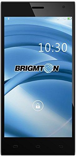 Brigmton BPHONE-550QC-B Smartphone débloqué (5.5 pouces - 8 Go) Noir/Blanc (import Espagne)