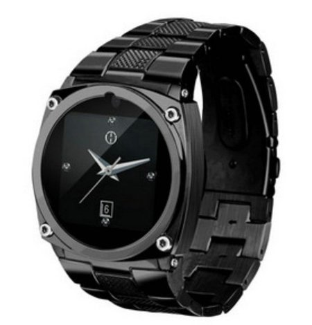 16GB Watch Phone (Java2.0/MSN/Facebook/Twitter) Cell Phone Black