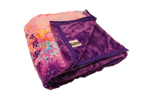 Purple Plush Blanket front-998230