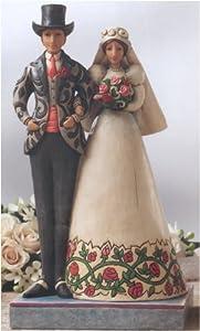 """Jim Shore Bride and Groom I Do"""" 4007234"""