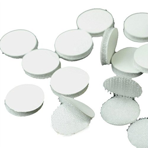 Best Prices! Vnfire 1000 Pcs (500 Pair Sets) 2cm Diameter Magic Sticky Velcro Coins Hooks & Loop...