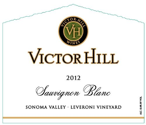 2012 Victor Hill Sauvignon Blanc Sonoma Valley 750 Ml