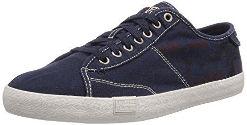 NAPAPIJRI FOOTWEAR Asker, Low-Top Sneaker uomo, Blu (Blau (blue marine N65)), 42