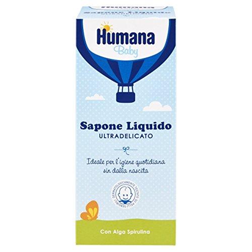 Humana Soap Ultradelicato Sapone Liquido con Dosatore - 500 ml