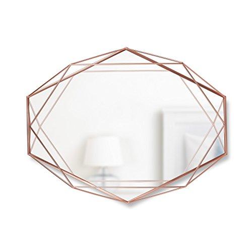 Umbra Prisma Wall Mirror, Copper