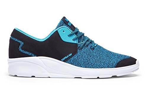 Supra NOIZ Black / blue atoll - white Fallwinter 2015 - 7.5
