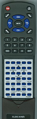 FRIGIDAIRE Replacement Remote Control for FRA123CT1, FRA083AT7, 5304476851, FRA106BU113