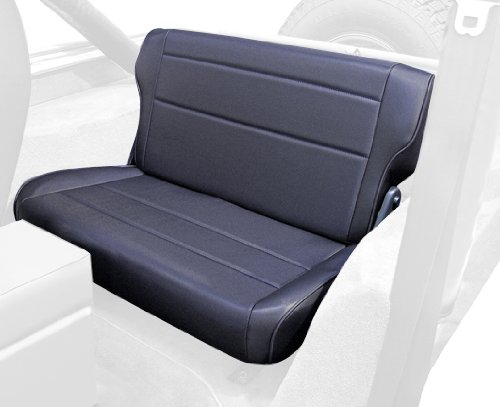 Rugged Ridge 13462.15 Black Denim Fold And Tumble Rear Seat