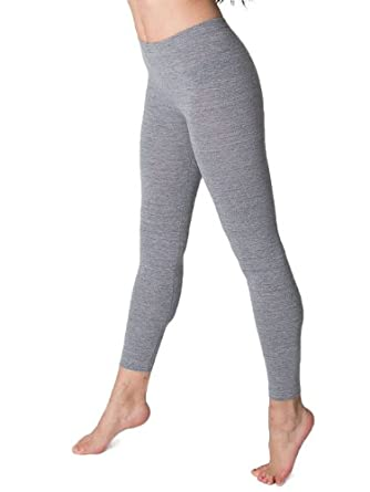 American Apparel Cotton Spandex Jersey Legging - Athletic Grey / XS