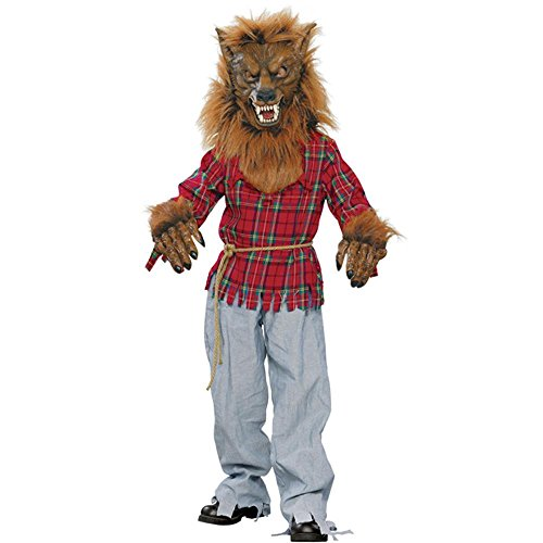 Child's Deluxe Werewolf Halloween Costume (Size: Medium 8-10)