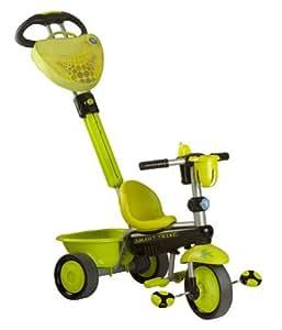 Smart Trike MNF PTE 1573800 - Triciclo adaptado al crecimiento con manillar extraíble [Importado de Alemania]