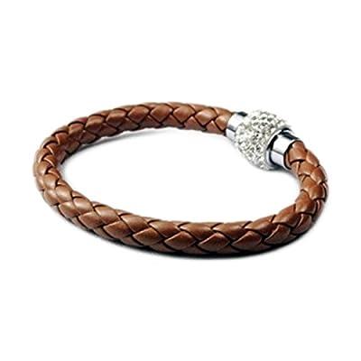 AUTHENTIC HANDMADE Leather Bracelet, Men Women Wristbands Braided Bangle Craft Multi [SKU001515]