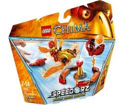 Lego Legends Of Chima - Speedorz - Inferno Pit - 70155 Lego Chima 5702015124744 Help The Phoenix Warrior Fluminox Grab The Chi Among The Flames In The Lego Legends Of Chima Speedor from LEGO