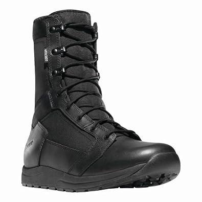 """Danner Mens Tachyon 8"""" GTX Uniform Black Leather Boot 3 D US"""
