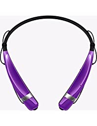 LG Electronics Tone Pro HBS-760 Bluetooth Wireless Stereo Headset - Retail Packaging -Purple