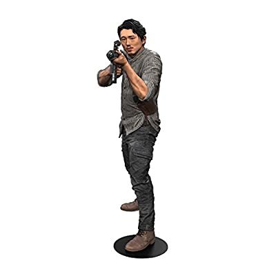 "McFarlane Toys The Walking Dead TV Glenn 10"" Deluxe Action Figure"