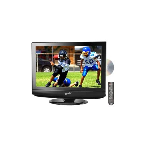 Best Price Supersonic SC-225 22 HD LCD TV with Built-in ATSC Digital TV Tuner, DVD Player
