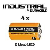 Usted recibirá 4pilas Duracell industrial mono/LR20Alkaline Power de la compañía vitamed Matthias quinger.