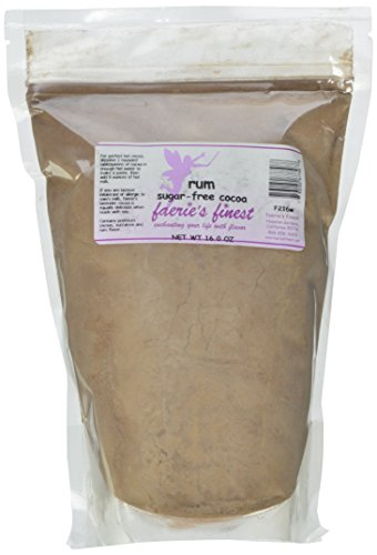 Faeries Finest Sugar-Free Cocoa, Rum, 16 Ounce