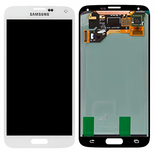 Generic Full Panel Lcd Display Screen Touch Digitizer Glass Compatible For Samsung Galaxy S5 I9600 G900A G900T G900V White