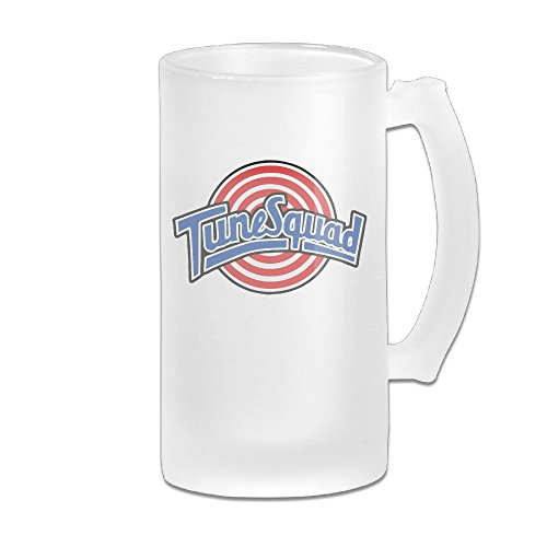 [Space Jam Tune Squad Frosted Glass Beer Stein 16oz Pub] (Monstars Space Jam Costumes)