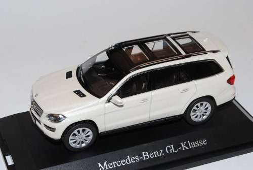 Mercedes-Benz GL-Klasse Diamant Weiss X166 Ab 2012 1/43 Norev Modell Auto