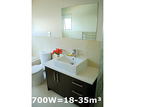 700w spiegelheizung infrarotheizung f rs bad ipx4 120x60cm f r r ume 18 35m hvh70sp spar. Black Bedroom Furniture Sets. Home Design Ideas