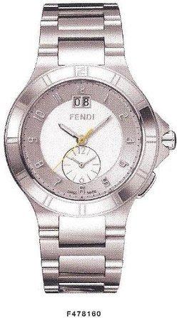 フェンディ Fendi High Speed Stainless Steel Dual Time Mens Watch F478160 男性 メンズ 腕時計 【並行輸入品】