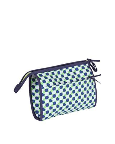 Malabar Bay Mod Dots Green Cosmetic Bag