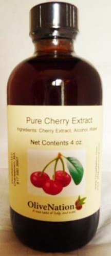 OliveNation Pure Cherry Extract 4 oz. (Extracts Cherry compare prices)