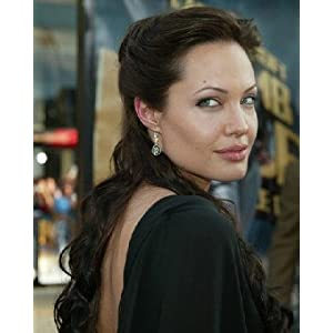 ANGELINA JOLIE 8x10 COLOUR PHOTO