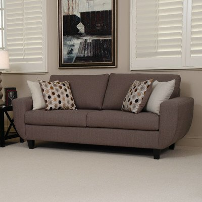 Tremont Sofa Color: Stallion Orange / Rosemont Multi / Stallion Blue