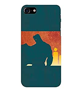 EPICCASE Superguy the Saviour Mobile Back Case Cover For Apple iPhone 7 (Designer Case)