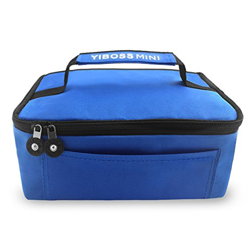 Ericoco MINI Personal Portable Cooler Bag Insulation Bag (blue) (Toaster Oven Compact Blue Light compare prices)