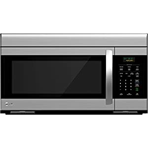 LG LMV1683ST Over-The-Range Microwave Oven with 300 CFM Venting System, 1.6 Cubic Feet
