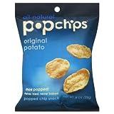 Popchips Potato Chips, Original Flavor, 0.8oz (Pack of 24) ~ popchips