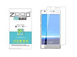 Zoop Premium 2.5D Rounded 9H 2.6mm Anti Burst Tempered Glass for Gionee S5.1