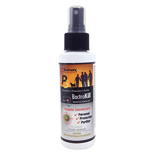 Bactrokill Non-Toxic Hospital Disinfectant And Odor Eliminator 3Oz Bottle