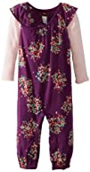 Tea Collection Baby-Girls Infant Layered Flutter Sleeve Romper
