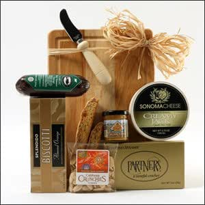 A Cut Above Cheese Board Gift Basket Mother 39 S