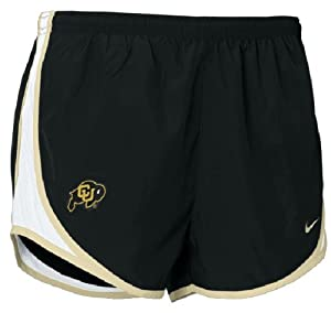 Women?s Colorado Buffaloes 3? Inseam NikeFIT Dry Tempo Running Shorts by Nike