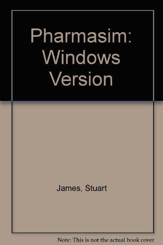 Pharmasim : Windows Version (with 3.5 diskette)