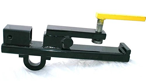 Tractor Bucket Hoist : Clamp on tractor bucket forks receiver hitch skid steer