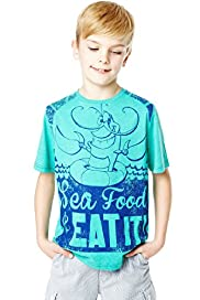 Pure Cotton Sea Food T-Shirt