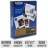 Brother Multi-Purpose Paper, 8.5 inches x 11 inches, 500 Sheets (BP60MPLTR)