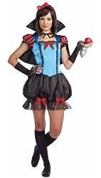 Gothic Fairytale Princess (Snow White) Halloween Costume Juniors / Teen Medium 7-9