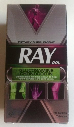 X Ray Dol Dietary Supplement Glucosamine Chondroitin (50 Tablets Single Bottle) Genomma Lab glucosamine chondroitin msm 300 таб