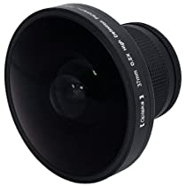 "Opteka Platinum Series 37mm 0.2X HD Panoramic ""Vortex"" Fisheye Lens for Digital & Video Cameras"