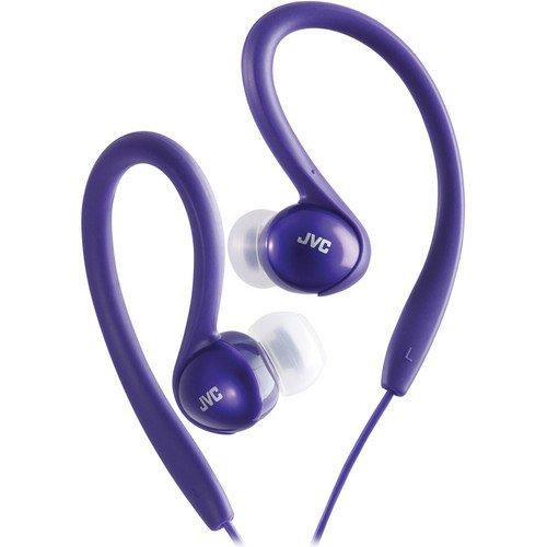 Jvc Haebx5V Sport Clip Headphone, Violet