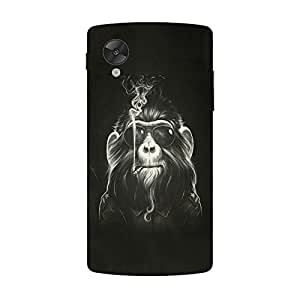 Back cover for Nexus 5 Smoking Ape